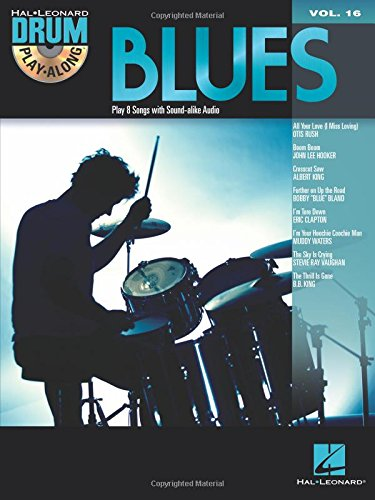 Drum Play Along Volume 16: Blues Drums: Noten, CD, Play-Along für Schlagzeug (Hal Leonard Drum Play-Along, Band 16)