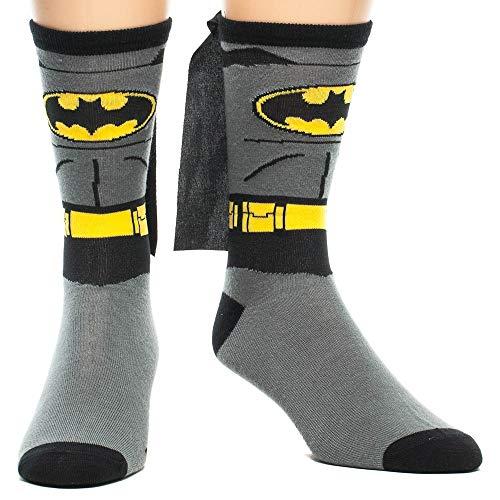 Batman Costume With Cape Crew Calcetines