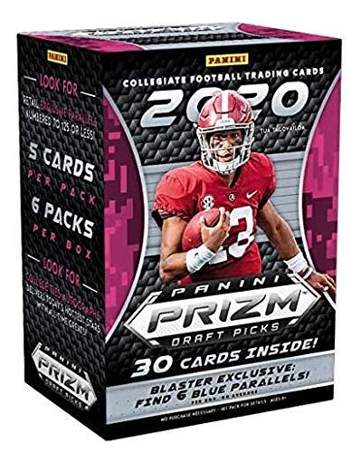 2020 Panini Prizm Draft Picks Football NFL Trading Cards Blaster Box