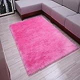 alfombra fucsia dormitorio