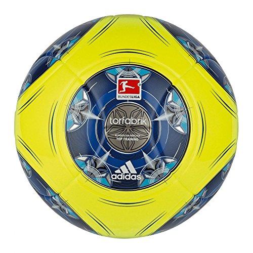 adidas Fußball Torfabrik 2013 DFL 13 Top Training, Wht/Silver/Zest/Mtsi, 4, G73538