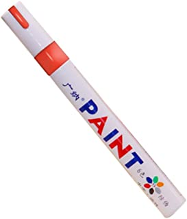 RuleaxAsi 1# Portable Colorful Pen Car Tyre Tire Tread Rubber Metal Permanent Paint Markers Graffiti Oily Scratch Repairin...