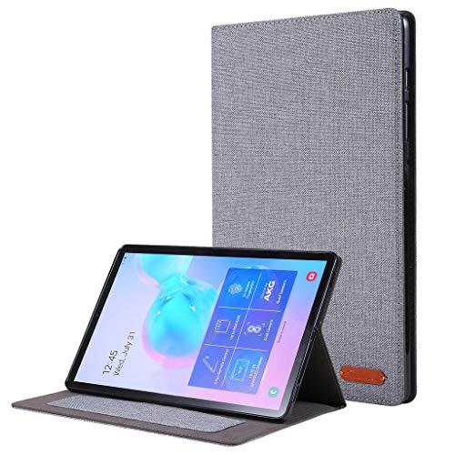 Gugavivid Tablet Case Kompatibel mit Samsung Galaxy Tab S6 10.5 Zoll T860 T865 Slim Stand Hülle Case mit Auto Sleep/Awake (A)