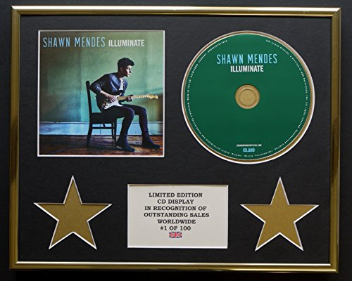 Everythingcollectible Shawn Mendes/CD-Darstellung/Limitierte Edition/COA/Illuminate