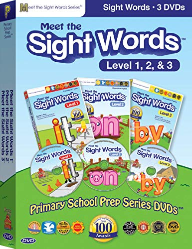 Preschool Prep Series: Sight Words Pack (Meet the Sight Words 1-3)