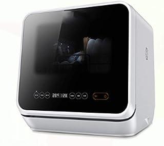 ZXCVB Escritorio lavavajillas automático del hogar libre de la instalación de la máquina mini pequeño Desinfección Pincel inteligente