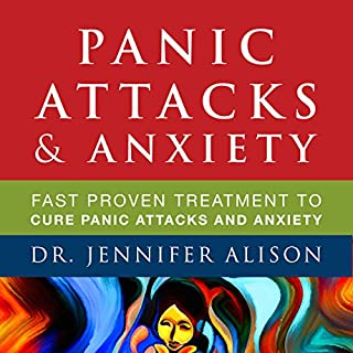 Panic Attacks & Anxiety audiobook cover art