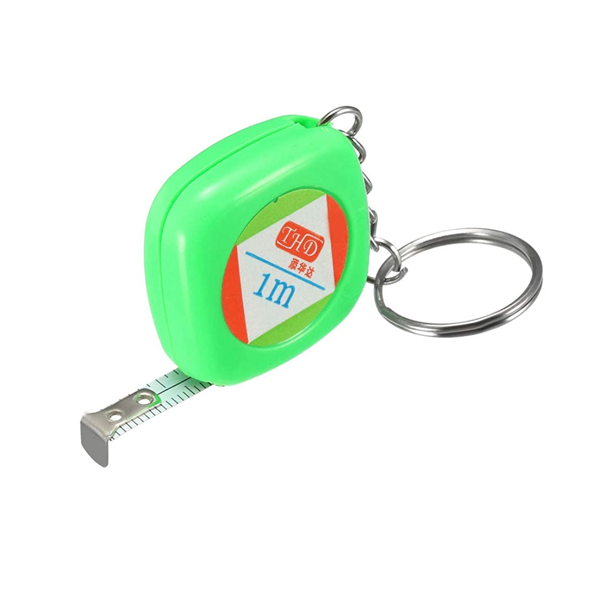 uxcell 39 Inch Measuring Tape Measure for Tailor Sewing 1M, Pack of 1, Green