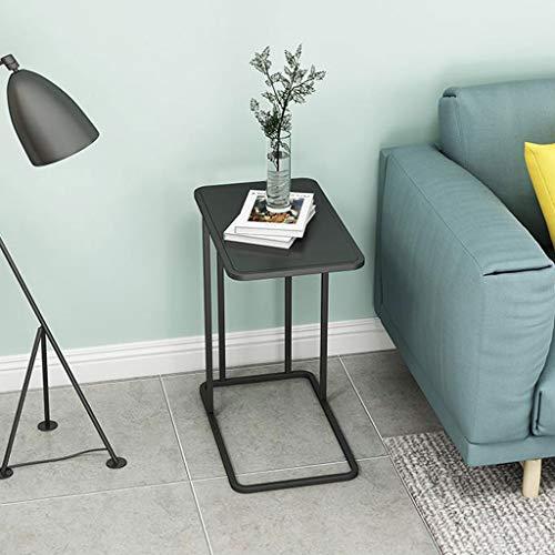 LYN Bijzettafel, metalen bijzettafel ijzeren eenvoudig klein tafeltje verwijderbaar nacht hoektafel woonkamer slaapkamer bank tafel