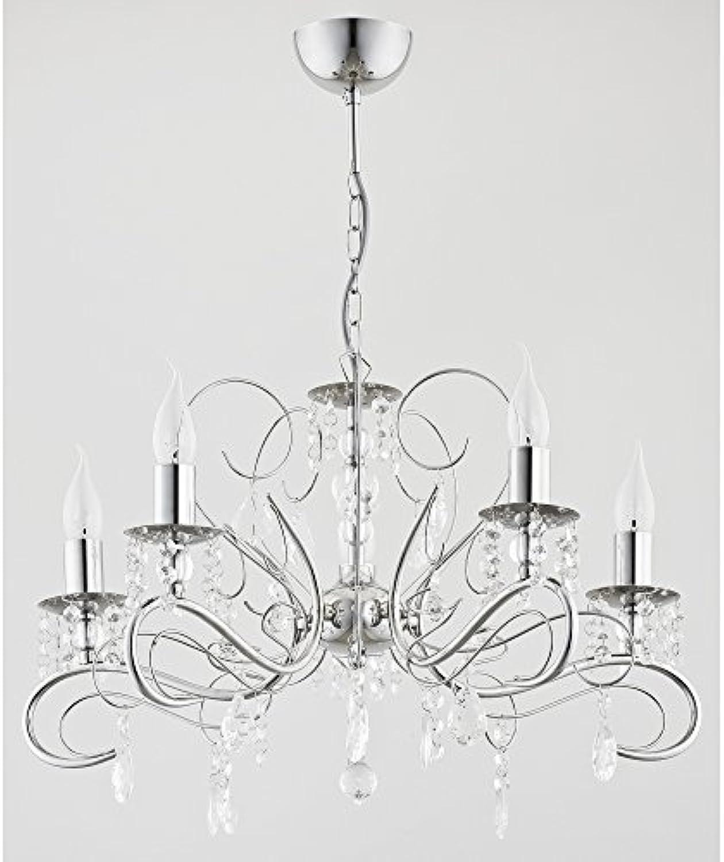 ALFA Astor 5 Deckenleuchte Wohnzimmer Deckenlampe Kronleuchter