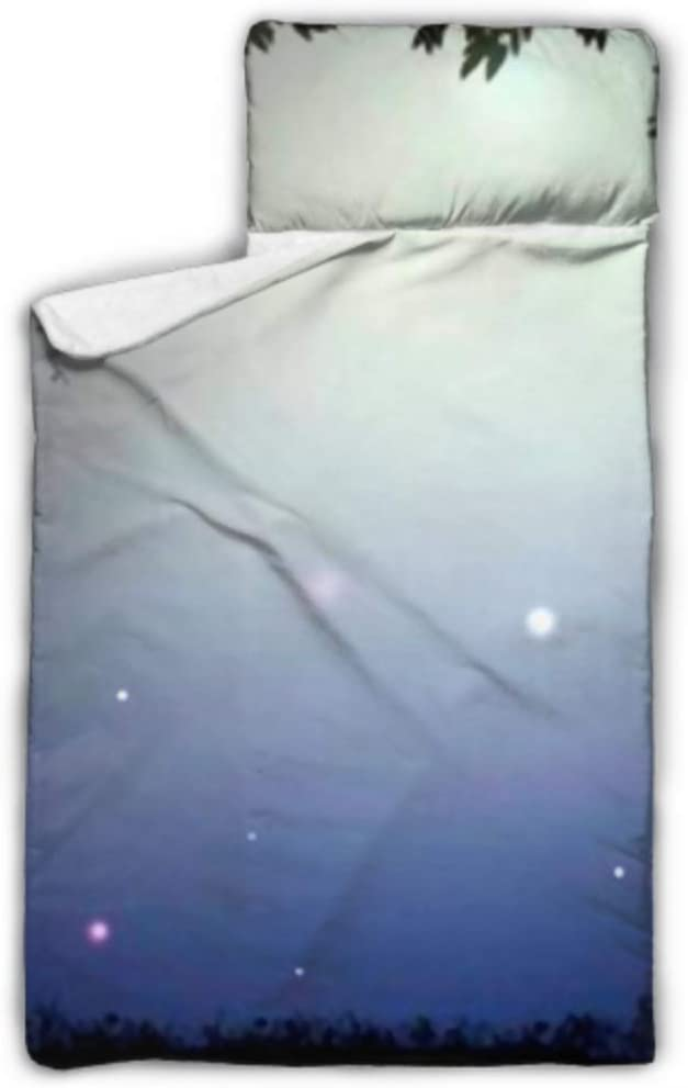 HJSHG Kids Sleeping Popular products Bag Deep Night Moonl Fairy Outlet sale feature Silhouette Forest