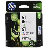 HP 純正 インクカートリッジ HP61 黒・カラーパック CR311AA