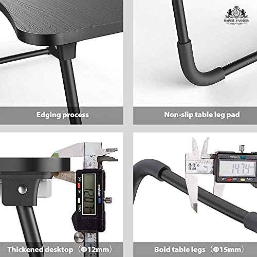 HABKA ENTERPRISE Laptop Table, Portable Breakfast Table, Sofa, Floor, Bed, Home Work Table, Outdoor Camping Picnic Table, Lap Reading Rack for Adults and Children, with Cup