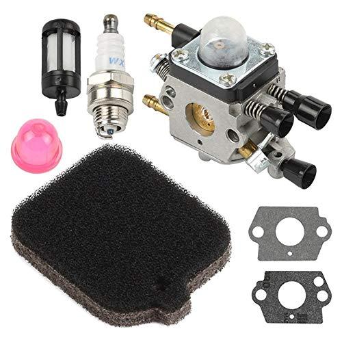 Duradero Hoja de Carb carburador for Stihl BG45 BG46 BG55 BG65 BG85 SH55 SH85 for Zama soplador Soplador de la motocicleta del coche Accesorios motosierra Reemplazar carburador (Size : 1PCS)