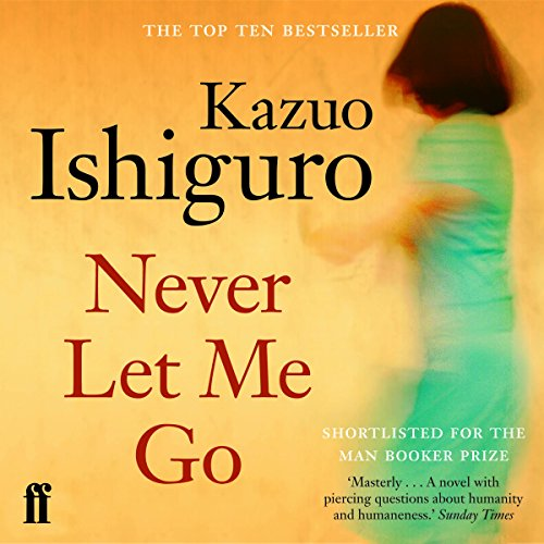 Never Let Me Go audiobook cover art