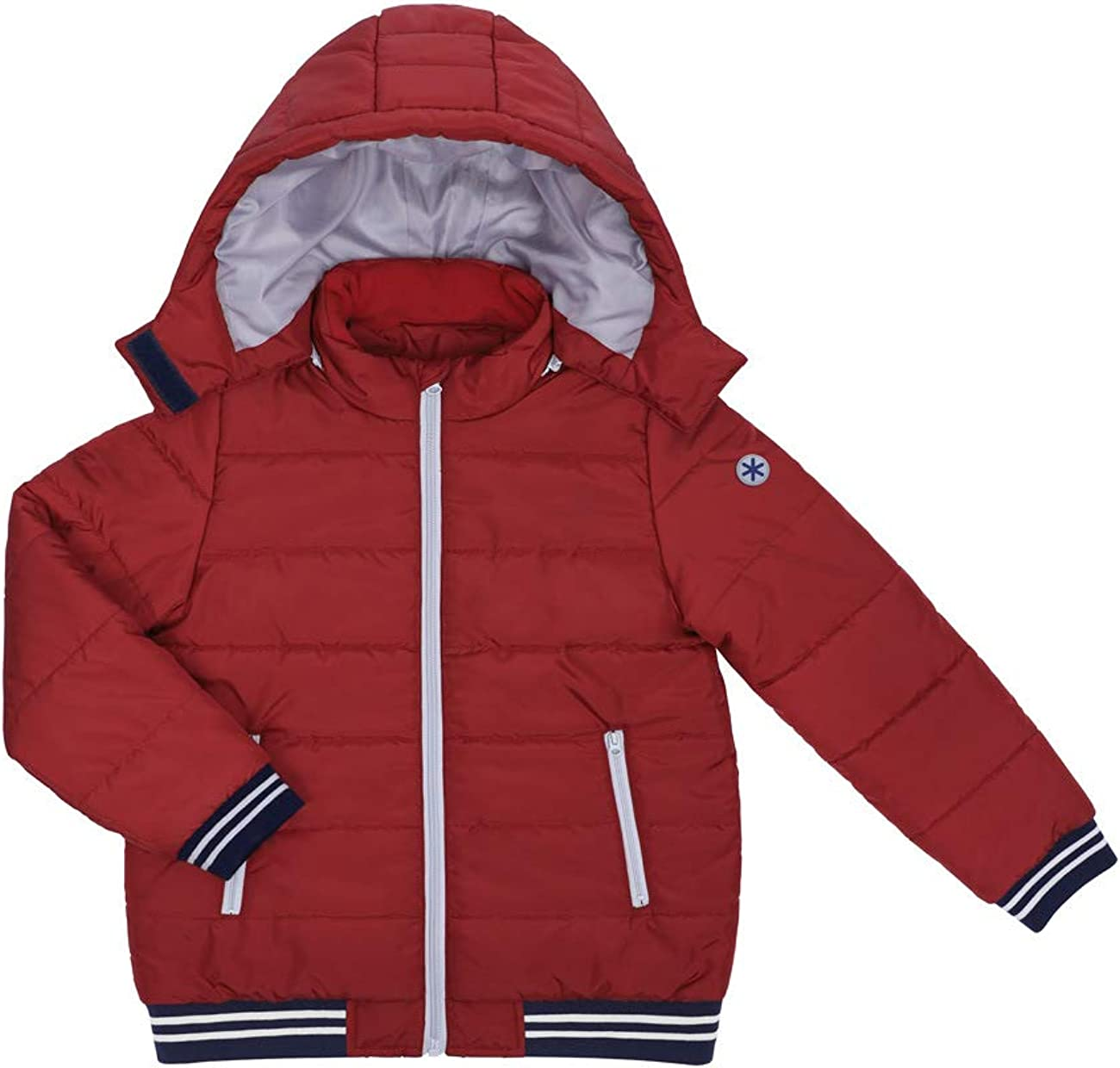 DISHANG Kid's Removable Hooded Jacket Warm Quilted Coat Casual Outdoor Cool Cute for Boys Girls Ski Snowboard Jacket