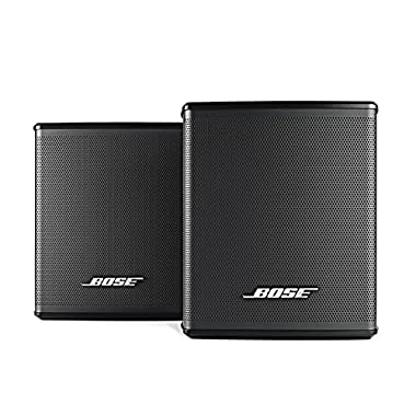 Bose Virtually Invisible 300 Wireless Surround Speakers (Pair, Black)