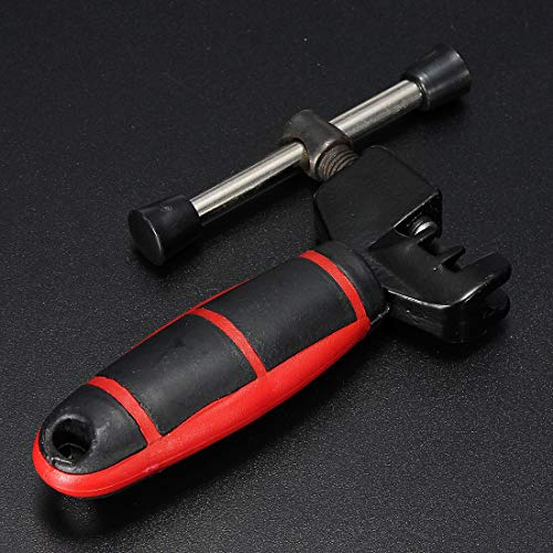 Bicycle Lock Bicycle Chain Pin Remover Linker Separator Separator Tool Kit Bicycle Wire Lock (Color : A)
