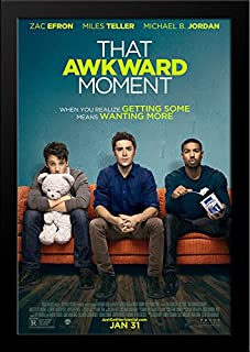 That Awkward Moment 28x36 Large Black Wood Framed Movie Poster Art Print