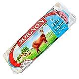 Queso Rulo de Cabra Soignon - Queso de Cabra con un 30% Menos de Materia Grasa - Rulo de Cabra Light - Queso proteico Bajo en Grasa - Rico queso de Cabra Frances