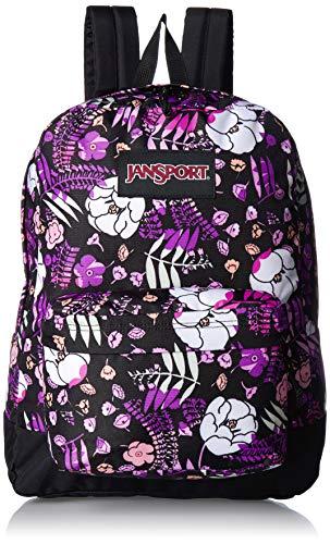 JanSport Black Label Superbreak Backpack - Lightweight School Bag | Liana Vines Print