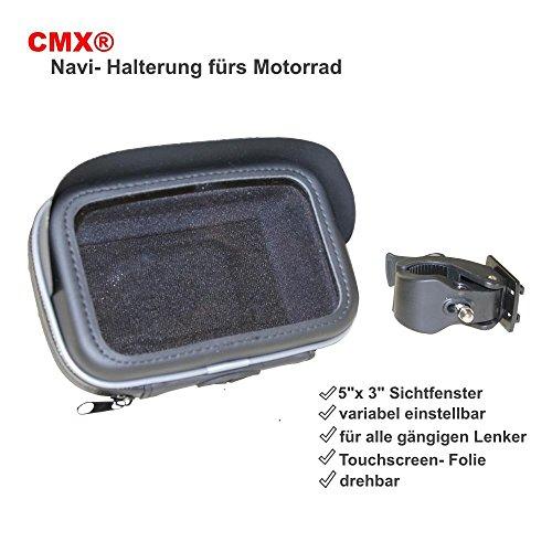 Motorrad Halterung Und wasserdichte Tasche Für Navigationssystem 5 Zoll 12,7cm