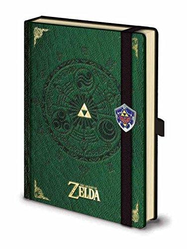 ZELDA SR71848The Legend of Zelda Carnet de Notes A5