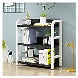 AWYST Buch Halter Desktop-Bücherregal 2 Tier-Desktop-Organizer-Büroschreibtisch-Speicher-Regal-Rack-Display-Regal-Rack für Büro und Zuhause Buchstützen (Style : E)