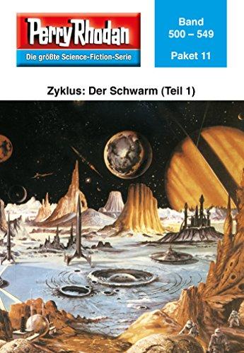 Perry Rhodan-Paket 11: Der Schwarm (Teil 1): Perry Rhodan-Heftromane 500 bis 549 (Perry Rhodan Paket Sammelband)