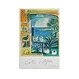 WUSOP Cote D Azur Pablo Picasso Poster dekorative Malerei