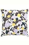 Kate Spade New York Swing Flora 18' Square Decorative Pillow Bedding, 18X18, White/Yellow/Lavender/Brown