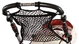 sunnybaby 19265 - Einkaufsnetz, Universalnetz für Kinderwagen & Sportwagen | universeller Ankerverschluss - Farbe: SCHWARZ | Qualität: MADE in GERMANY