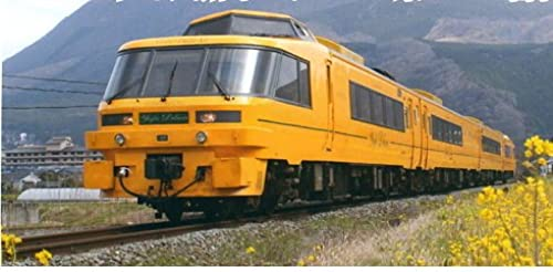 Kiha183-1000 [Yufu DX] Gelb Farbe (4-Car Set)