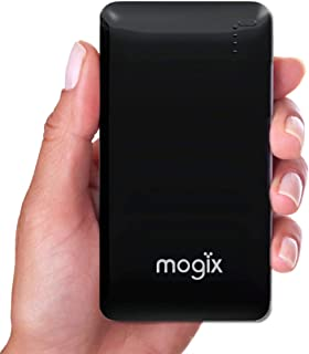 Mogix External Power Bank Charger with 2 Fast USB Ports Compact 10400mAh #Voted Best Travel Phone...