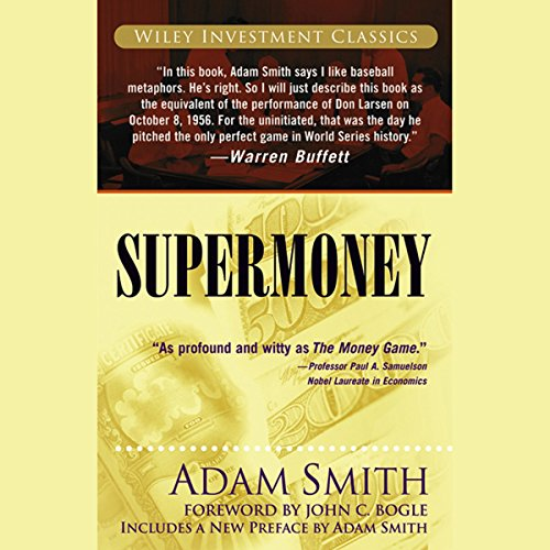 Supermoney audiobook cover art