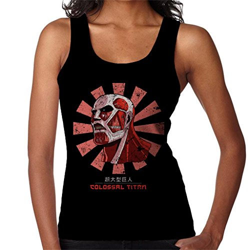 Colossal Titan Retro Japanese Attack On Titan Women's Vest