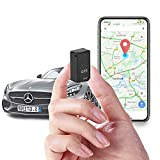 GPS Tracker,Mini Magnetic GPS Real time Car Locator,Long Standby Portable Real-Time Positioning Tracking Device for Vehicles, Kids, Elder, Pets, Trucks