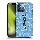 Head Case Designs Licenciado Oficialmente Manchester City Man City FC Kyle Walker 2020/21 Jugadores Inicio Kit Grupo 2 Carcasa rígida Compatible con Apple iPhone 13 Pro