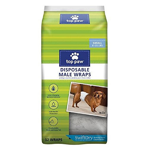 Top Paw Disposable Dog Diapers Male