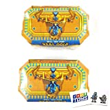 Treasure X Kings Gold Mystical Beast (2 Pack) with 2 GosuToys Stickers