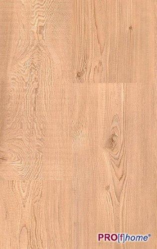 MEISTER 6057 Klick Laminat Laminatboden Hemlock Holz-Nachbildung 1-Stab Landhausdiele | 3,06 qm / 12 Dielen