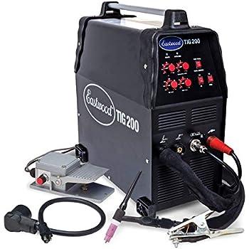 Everlast PT200DV PowerTig 200DV 200AMP 110//220 Dual Voltage Pulse AC DC Welder
