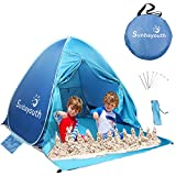 Best Beach Tents For Babies - SUNBA YOUTH Beach Tent, Beach Shade, Anti UV Review