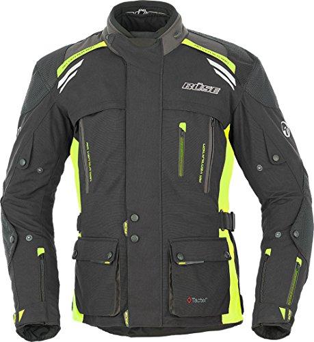 Büse Highland Motorrad Textiljacke 8XL Schwarz/Neon/Gelb
