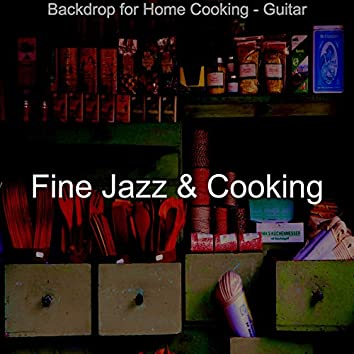 Backdrop for Home Cooking - Guitar