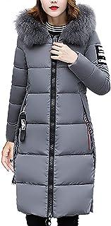 Abrigo mujer Cuello de Piel