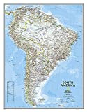 South America Classic, Enlarged &, Laminated: Wall Maps