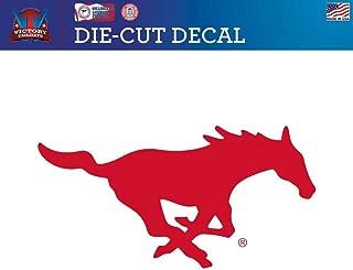 Victory Tailgate Southern Methodist University Mustangs SMU Die-Cut Vinyl Decal Logo 2