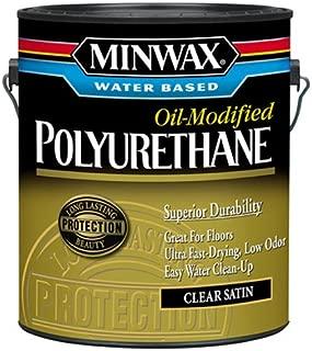 Minwax 710330000 Water Based Oil-Modified Polyurethane, gallon, Satin