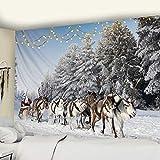 KHKJ Vacaciones de Navidad Colgante de Pared decoración de la Pared del...